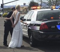 Police: Impaired bride crashes on her way to her wedding