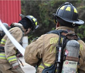 Brunswick Fire Chief Randy Mobley said firefighters are being trained by the city, only to leave for higher pay somewhere else. (Photo/BFD)