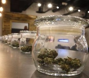 There are several strategies the state is employing to reduce the incidence of stoned driving because evidence from other states that operating under the influence (OUI) of psychoactive cannabis has public safety impacts is mounting. (AP Photo/Brennan Linsley)