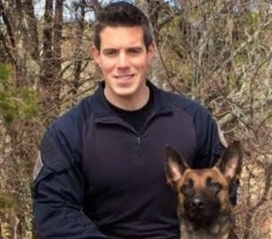 Officer Sean Gannon was shot while he and other officers were serving an arrest warrant for an alleged probation violation at a home. (Photo/Yarmouth PD)
