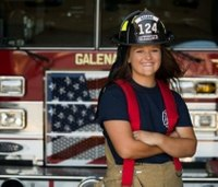 Kan. fire dept. hires first female firefighter in its 141-year history