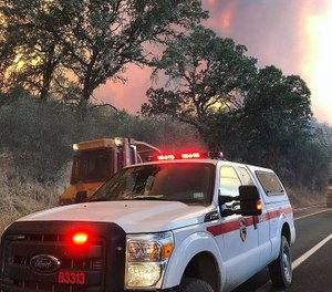 The state budget, sent to Gov. Gavin Newsom last week, adds 13 engines and 131 firefighters along with new air tankers, helicopters and other equipment. (Photo/ CAL FIRE Local 2881)
