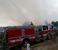 National Guard bringing fuel to Calif. firefighters