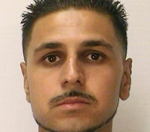 This Aug. 12, 2014 photo from the California Department of Corrections and Rehabilitation shows inmate Adnan Khan. A Northern California judge, citing a new state law, overturned Khan's murder conviction and ordered him released from custody. The San Francisco Chronicle reported Friday, Jan. 18, 2019, that Khan is believed to be the first California inmate to benefit from a new law limiting murder convictions exclusively to actual killers. (California Department of Corrections and Rehabilitation via AP)