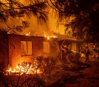 Cops assist firefighters responding to Calif. wildfires