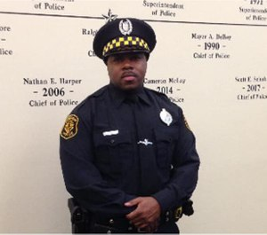 Officer Calvin Hall. (Photo/Pittsburgh Police)