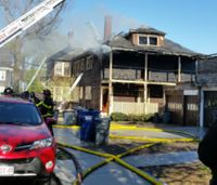 Mayday: Mass. firefighter located during 4-alarm blaze