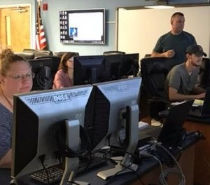 Cambria County authorities are searching for those responsible for tampering with the county's radio frequencies used by 911, EMS, police and Cambria County Prison. (Photo/Cambria County Department of Emergency Services)