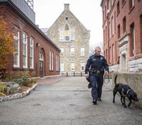 Newest members of college police departments: Bomb-sniffing K-9s