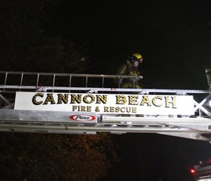 As firefighters help battle the Camp Fire, the Cannon Beach Rural Fire Protection District passed a policy limiting how often crews can be sent to other places. (CBRFPD)