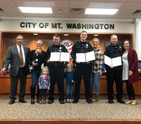 Police officers honored for saving newborn in cardiac arrest