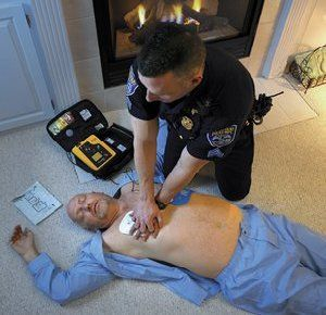 AEDs help save lives during cardiac arrest (Photo/Flickr)