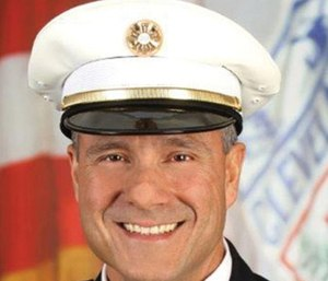 Cleveland Chief Angelo Calvillo was given a vote of no confidence by  the International Association of Fire Fighters Local 93. (Photo/CFD)