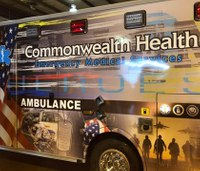 Pa. ambulance honoring fallen heroes unveiled