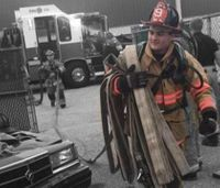 Driver charged with 2 felonies in Pa. firefighter's death