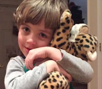 Police replace boy's stuffed cheetah lost on interstate