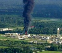 Texas county sues chemical plant owner over fires, blasts