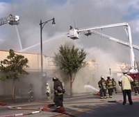 3 Chicago firefighters hurt in 4-alarm fire