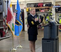 Md. county names first female fire chief in its history