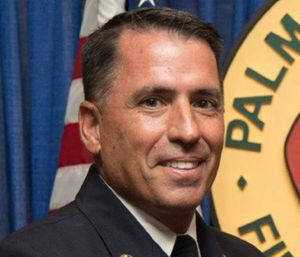 "Former Palm Beach County Fire Rescue Chief Jeffrey Collins and a pair of other high-ranking officers were forced out because of a ""civil conspiracy,"" a lawyer said. (Photo/ Palm Beach County Fire Rescue)"