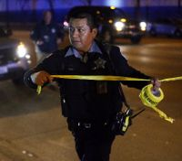 2 Chicago cops shot with rifle in area where gangs increasingly use high-powered guns