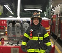 FDNY firefighter saves choking diner while on date with wife