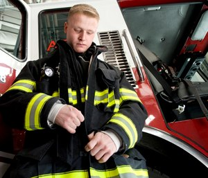 Cincinnati lawyer Robert A. Bilott said he intends to sue the government unless a study be conducted on firefighter turnout coats. (Photo/Dover AFB)