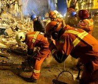 Rescuers still searching for victims of Iran building collapse