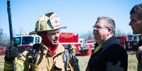 When a fire chief needs to go to all-hands, in-person communication