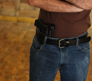Do your homework and look at the local gun laws when you do your trip planning. (Photo/Clinger Holsters via Flickr)