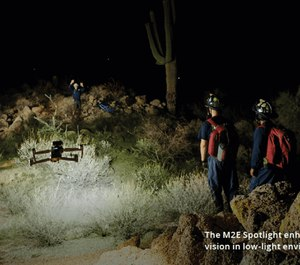The Mavic 2 Enterprise provides the most practical and comprehensive solution for emergency response scenarios. (image/DJI)