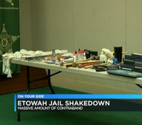 Sweep at Ala. jail nets massive amount of contraband