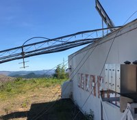 Ore. county emergency communication tower destroyed