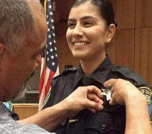 Rookie Officer Natalie Corona, who was killed while responding to a traffic crash (Photo/Davis Police Department)