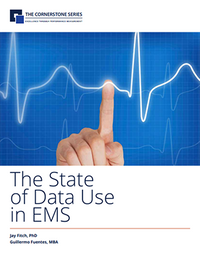 Download the Cornerstone State of Data Use in EMS Whitepaper