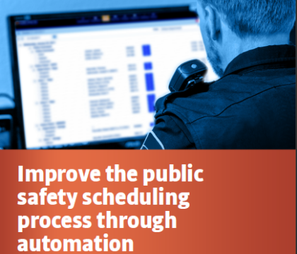 Whitepaper: Improve the public safety scheduling process through automation