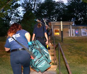 In short, CP is one of many service lines that EMS agencies may undertake as part of a MIH strategy. (Photo/FirstNet)