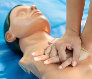 Nature Coast EMS used a state grant to teach over 2,700 residents CPR. (Photo/AHA)