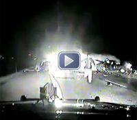 Video: Trooper's dash cam captures deadly wrong-way crash