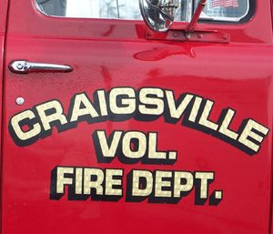 The Craigsville Volunteer Fire Department voted to give up its EMS license because they felt the paid staff of the Craigsville-Augusta Springs Rescue Squad was doing all of the work. (Photo/CFVD)