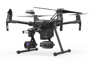 Axon Air is a new partnership between Axon and drone manufacturer DJI that enables police agencies to leverage the Axon network and integrate drone video into Evidence.com. (image/Axon)