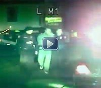Video: Ohio suspect crashes into bar, injuring patrons