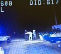 Video: Mich. chief says dash cam refutes brutality claim