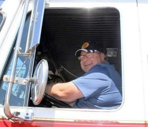 David Carr went to the station to put up equipment before going home, where he collapsed later that morning. (Brasher-Winthrop Volunteer Fire Dept.)