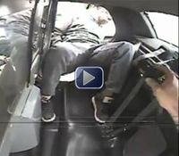 Video: Ohio suspect TASERed after fight with cops in cruiser