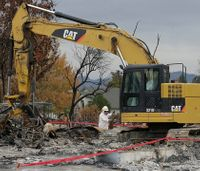 More than 200,000 tons of debris cleaned up from Calif.  wildfires