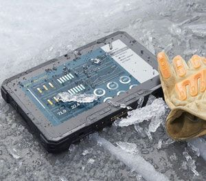 For severe temperatures, the Rugged Tablet comes with a thermal management system. (Dell Image)