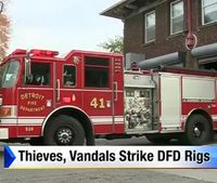 Detroit firefighters fed up with thieves, vandals