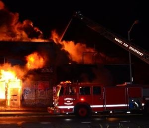 The Detroit Fire Fighters Association contends the city violated its duty to bargain under the Public Employment Relations Act when a policy that dictates when firefighters use lights and sirens was unilaterally imposed. (Photo/DFFA)