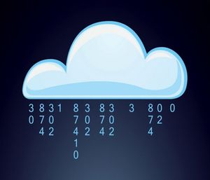 The best part of a cloud-based, or Software as a Service (SaaS), model is that it saves time and money. (Vector)